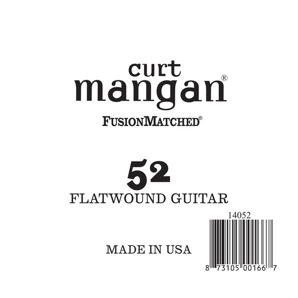 52 Flatwound Guitar Single String