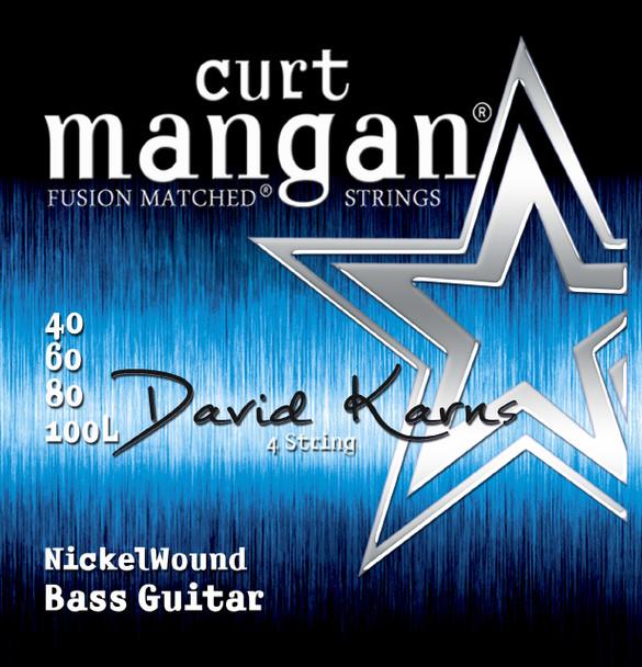 DAVID KARNS Custom XL Nickel Wound 4 String