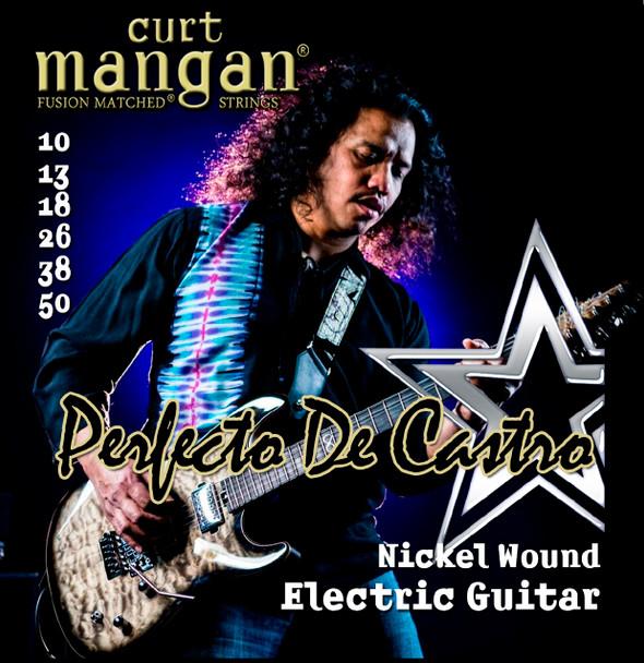 Perfecto De Castro's Custom Signature 10-50 Nickel Wound Set