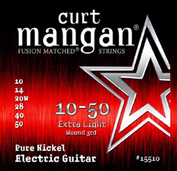 10-50 Extra-Light Pure Nickel Guitar String Set
