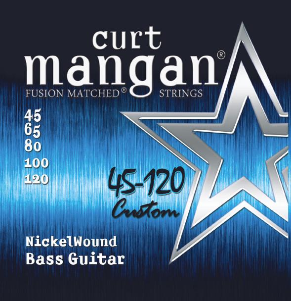 45-120 Nickel Wound 5-String Bass