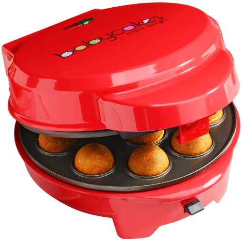 BabyCakes 3-in-1 multi plate treat maker red MT-6 Select Brands