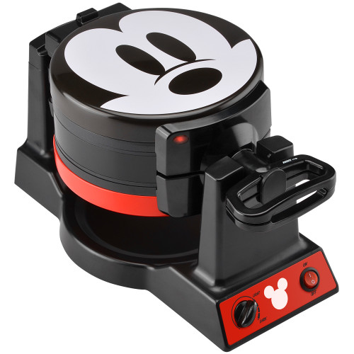 Disney Mickey Mouse Double Flip Waffle Maker Mickey face graphic MIC-62 Select Brands
