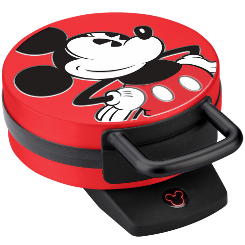 Disney Mickey Mouse Waffle Maker red DCM-12 Select Brands