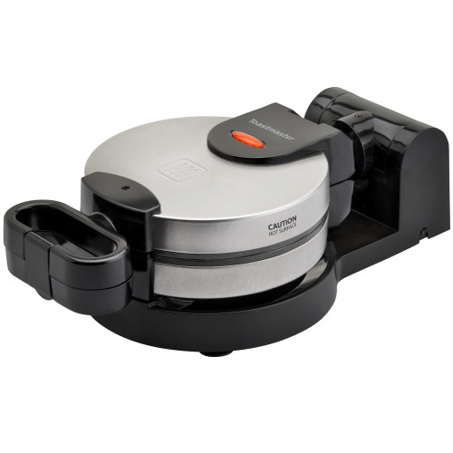 Toastmaster stainless steel round rotating waffle maker TM-285WM Select Brands