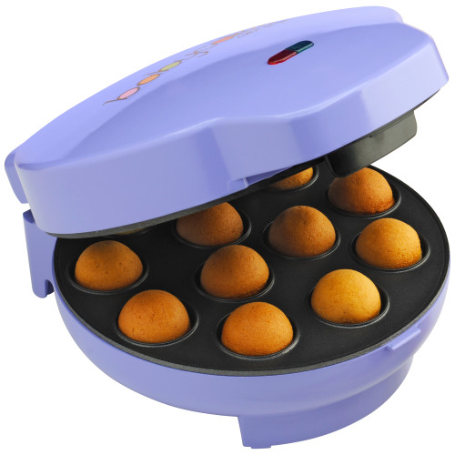 Babycakes cake pop maker with 12 cake pops purple CP-12 Select Brands