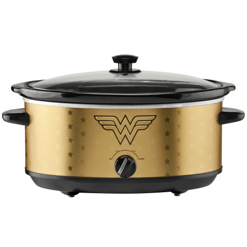 Wonder Woman 7 quart slow cooker DCW-7 Select Brands