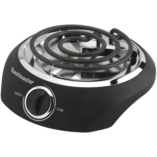 Toastmaster coil single burner black TM-10SB Select Brands
