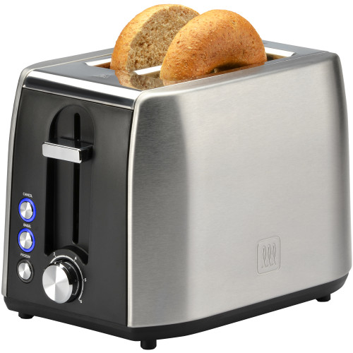 Toastmaster 2-slice fast toaster stainless steel TM-29TS Select Brands