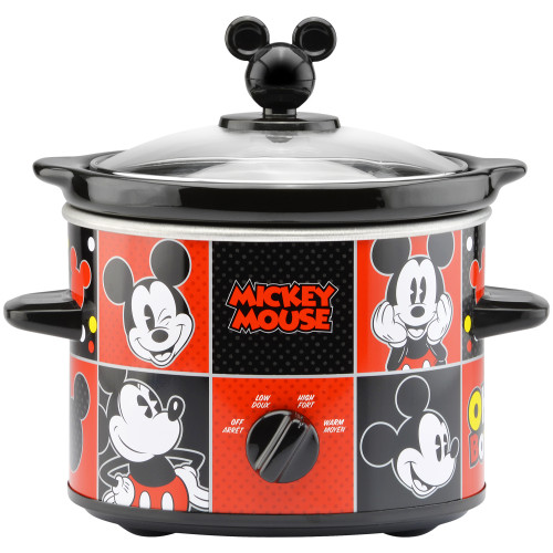 Disney Mickey Mouse 2 Quart Slow Cooker DCM-200CN Select Brands