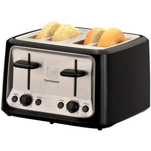 Toastmaster 4-slice cool touch toaster with toast TM-46TS Select Brands