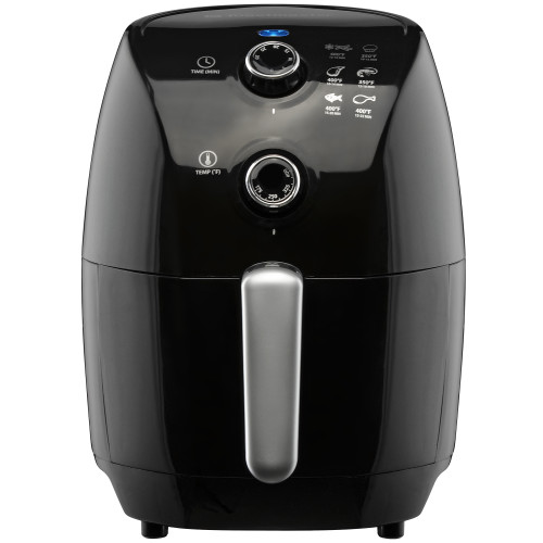 Toastmaster 1.5L (1.6 Qt) compact air fryer black TM-150AF Select Brands