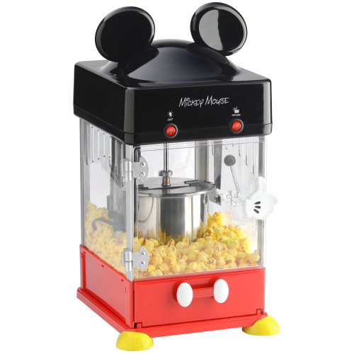 Disney Mickey Mouse Kettle Popcorn Popper DCM-250 Select Brands
