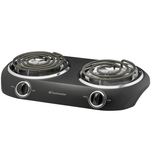 Toastmaster coil double burner black TM-20DB Select Brands