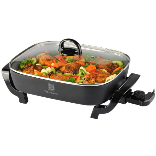 "Toastmaster 16"" x 12"" Skillet with ceramic coating TM-165SKC Select Brands"