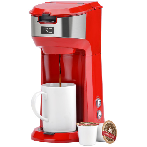TRU single serve dual brew red CM-1177RD Select Brands