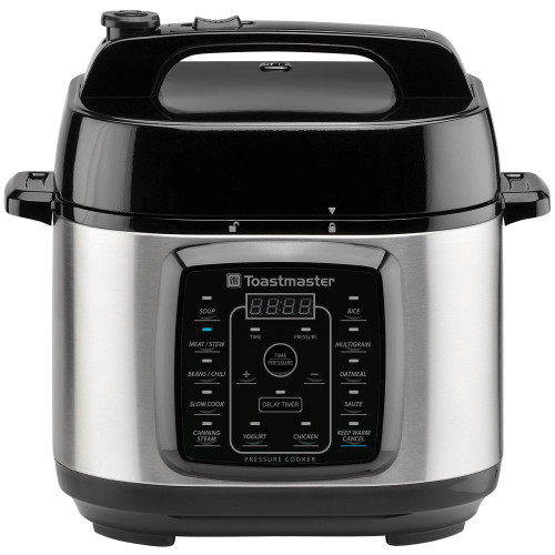 Toastmaster 6-Quart Digital Electric Pressure Cooker TM-670PC Select Brands