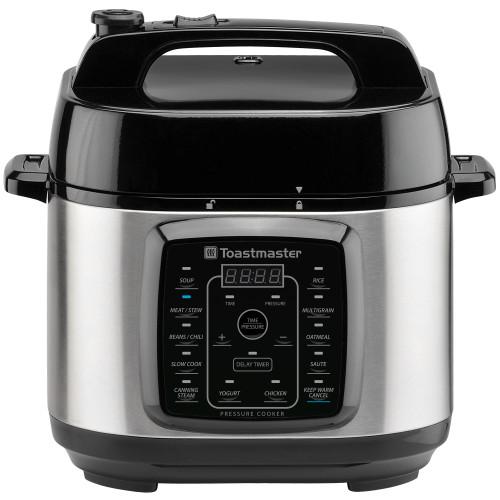 Toastmaster 6-Quart Digital Electric Pressure Cooker TM-670PC Select Brands