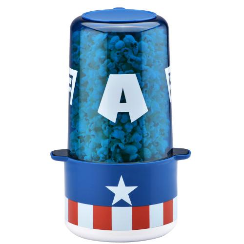 Captain America Stir Popcorn Popper MVA-60CN Select Brands