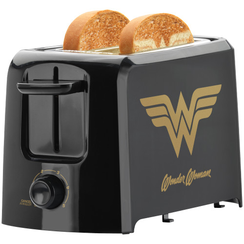 Wonder Woman 2-Slice Toaster DCW-21CN Select Brands