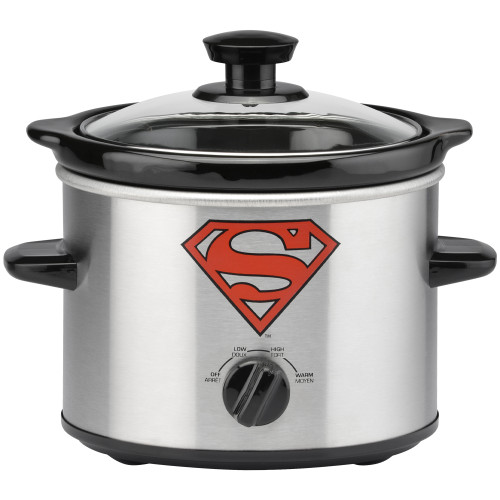 Superman 2 Quart Slow Cooker DCS-200CN Select Brands