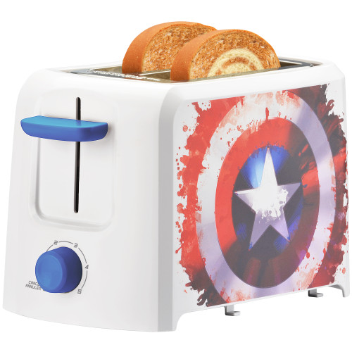 MARVEL Captain America 2-Slice Toaster MVA-21CN Select Brands