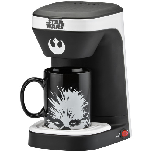 Star Wars 1-cup coffee maker with 12 ounce mug LSW-123CN Select Brands