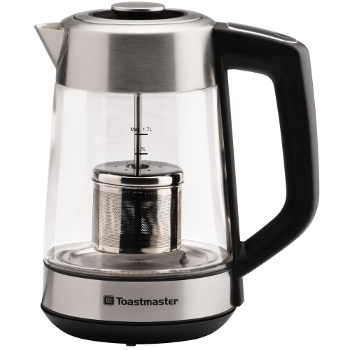 Toastmaster Electric Digital Kettle glass and stainless TM-798KE Select Brands