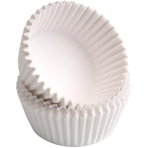 Babycakes Mini Cupcake Liners, White CC-100WS Select Brands