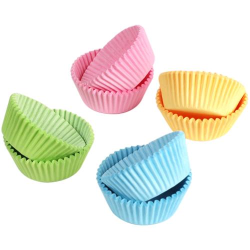 Babycakes Mini Cupcake Liners, Pastel CC-400 Select Brands
