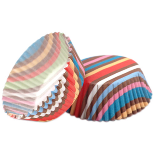 Babycakes Mini Cupcake Liners, Striped CCL-300ST Select Brands