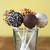 Decorated cake pop photo with sprinkles on sticks Babycakes CP-12 Select Brands