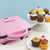 Babycakes full size 12 cupcake maker pink with decorated cupcakes CC-12 Select Brands