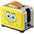 SpongeBob 2-Slice Toaster yellow with SpongeBob SquarePants graphic alt angle NKL-23 Select Brands