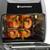 Toastmaster 11L (11.6 Qt) digital air fryer kabob skewers with food TM-904AF Select Brands