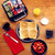 Avengers waffle maker lifestyle image with waffles on plate MVA-281 Select Brands