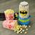 Batman Stir Popcorn Popper lifestyle photo with popcorn DCB-60CN Select Brands