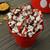 Mickey Mouse Stir Popcorn Popper lifestyle photo colorful popcorn DCM-60CN Select Brands