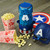 Captain America Stir Popcorn Popper lifestyle photo with popcorn MVA-60CN Select Brands