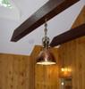 hanging copper cargo nautical light