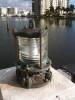 patina piling dock light