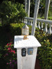 key west style nautical piling and pier light