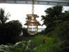 US Navy hanging hooded nautical light