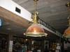 hanging nautical ship's cargo fox light