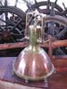 vintage copper cargo pendant light