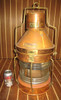 coastal decor copper ship light