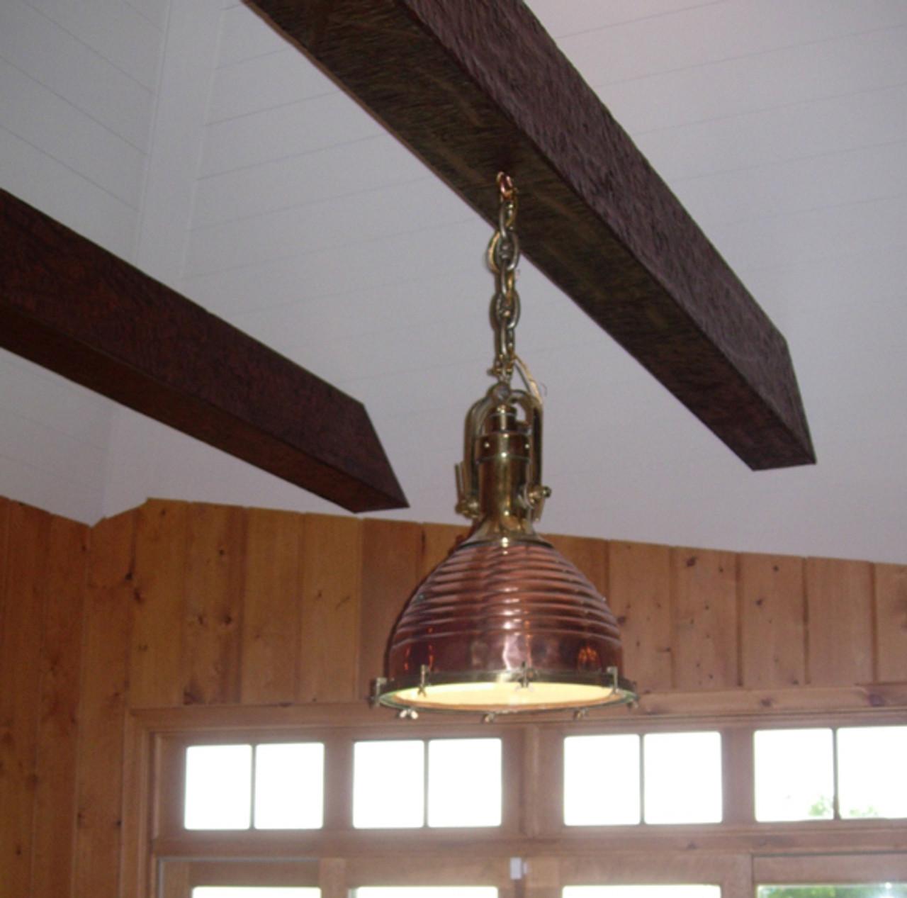copper cargo nautical light
