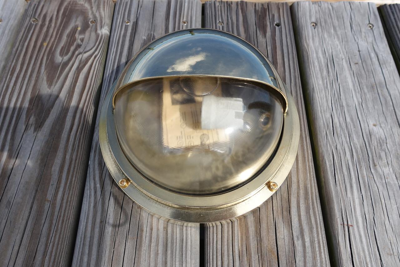 brass eyelid dock light
