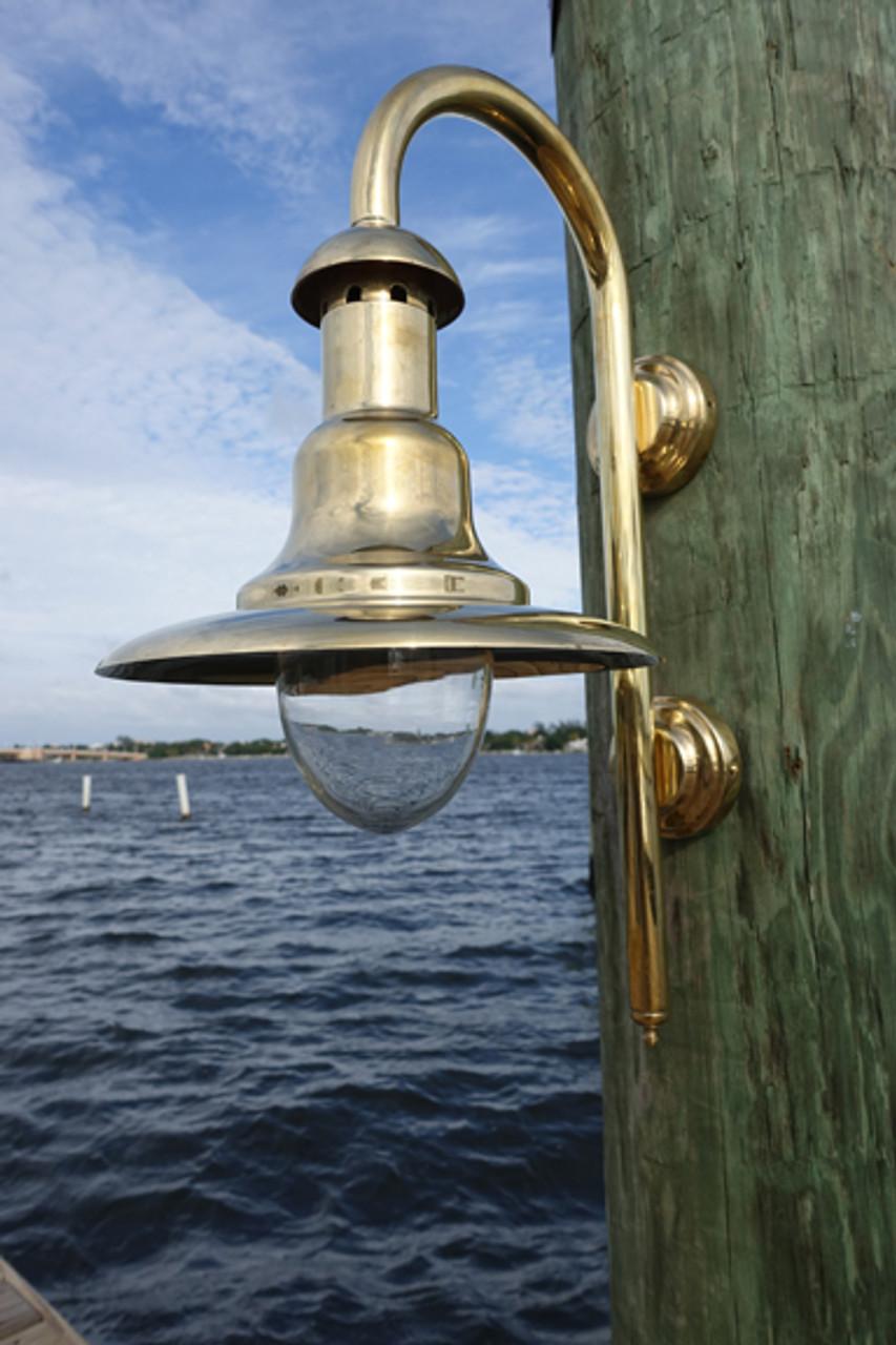 fisherman's brass nautical light