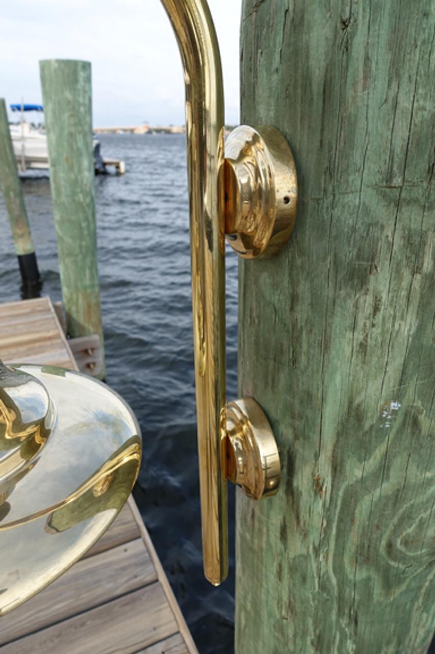 mounting brackets for fisherman dock light